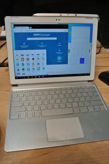 Der ARM-Prototyp hatte den Play Store.
