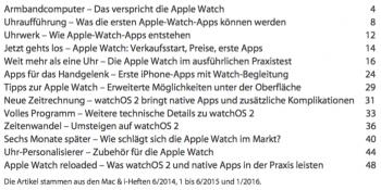 Artikeldossier: Mac & i kompakt Apple Watc