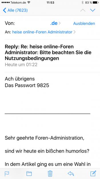 """Durch den Hinweis """"Ach übrigens, das Passwort:..."""" wirken die von einem infizierten Rechner versandten Mails sehr echt - wer hat nicht schonmal einen Anhang vergessen."""
