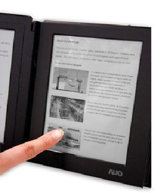 E-Reader von AUO