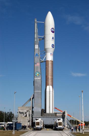 Atlas V auf Startrampe