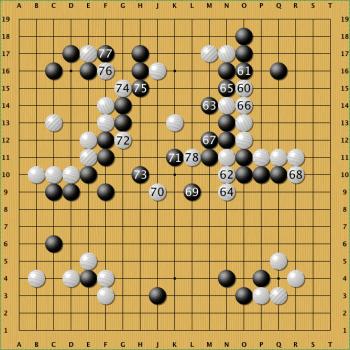 Nach Zug 71 des Computers dachte Lee Sedol über zehn Minuten nach; Zug 78 könnte der entscheidende Trick für den Sieg gewesen sein.