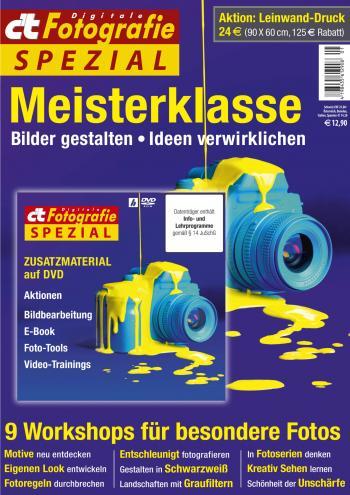 Sofort bestellbar: c't Fotografie Spezial Meisterklasse Edition 2