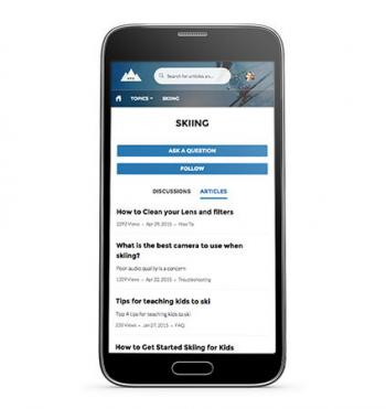 Salesforce Service Cload auf dem Smartphone