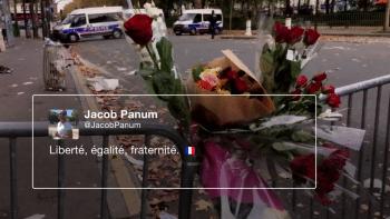 Ein Tweet nach einem Paris-Attentat
