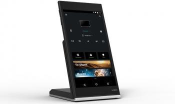 Ein kleines 6-Zoll-Tablet liefert Vizion zu seinen ChromCast-TVs dazu.