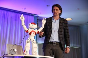 Robotik-Experte und CEO der Singularity Universtiy Rob Nail.
