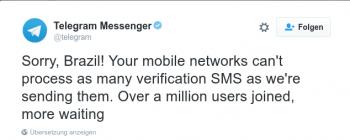 """WhatsApp kritisiert Brasilien-Blockade: """"Strafe für 100 Millionen"""""""