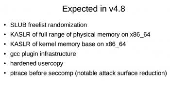 Linux 4.8 wird eine Reihe neuer Schutztechniken enthalten.