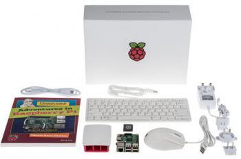 Umfangreich: Das neue Starter Kit bietet alles, was man für erste Bastelprojekte mit dem Pi benötigt.