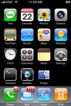 iPhone mit Fremdapplikationen