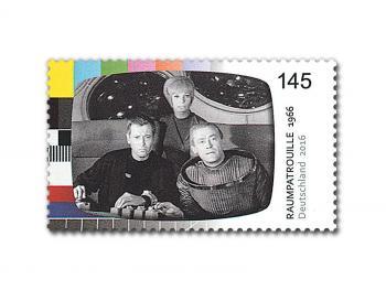Rücksturz in den Briefkasten: Die Post feiert mit der Orion-Sondermarke mit.
