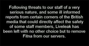 Statement von LiveLeak