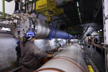 Reparaturarbeiten am LHC