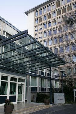 Hauptgebäude der Bundesanstalt für Finanzdienstleistungsaufsicht (BaFin) in Bonn