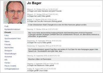 Facebook stellt eine Kopie aller persönlichen Informationen, die man auf Facebook geteilt haben, als Paket zum Herunterladen bereit.