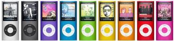 iPod nano in neun Farben
