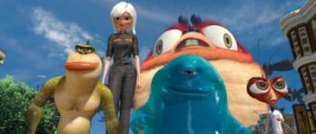 Wollen ab Donnerstag die 3D-Kinos erobern: Die DreamWork'schen Monster.