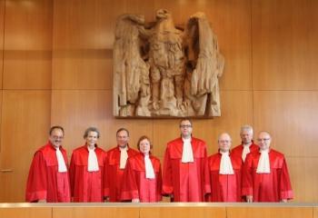 Zweiter Senat des Bundesverfassungsgerichts.