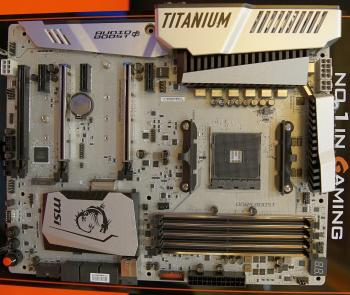 AM4-Mainboard MSI X370 Xpower Gaming Titanium