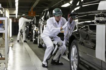 Noch in diesem Monat soll die Geh-, Steh- und Hockhilfe im Auto-Montagewerk von Saitama eingeführt werden.
