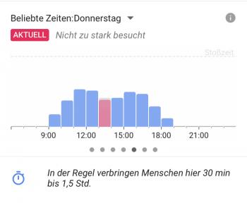 Google Maps Live-Daten