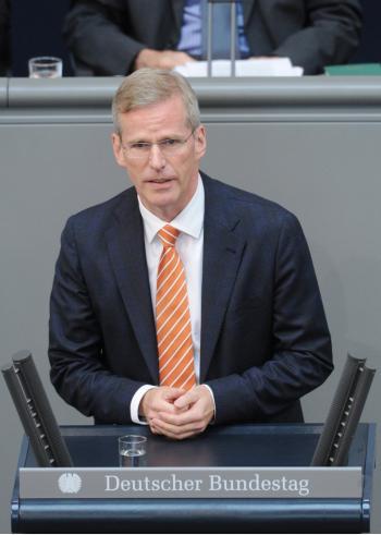 Sieht Bürger durch neues BND-Gesetz ausreichend vor Überwachung geschützt: Vorsitzender des Parlamentarischen Kontrollgremiums der Geheindienste Clemens Binninger (CDU).