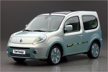 Elektroauto Renault Kangoo be bop Z.E.