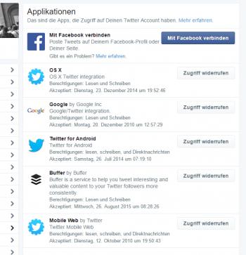 Dritt-Apps mit Zugriff auf den Twitter-Account gefährden dessen Sicherheit. Deshalb sollte man die Liste regelmäßig ausmisten.
