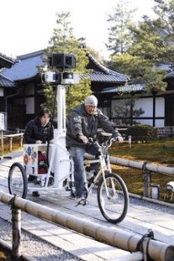Google-Dreirad für StreetView