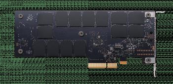 14 3D-Xpoint-Chips finden sich auf der Rückseite der Intel DC P4800X, eine unbekannte Anzahl auf der Vorderseite. Eine Typenbezeichnung hat Intel nicht aufgebracht.