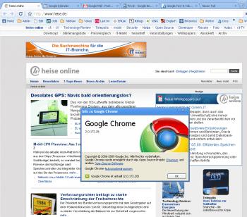Google Chrome 2.0