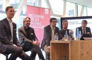 Julius van de Laar, Mark Seibert, Robert Heinrich, Mathias Richel & Stefan Hennewig (v.l.n.r.)