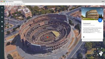 Zu bekannten Sehenswürdigkeiten stellt Google weiterführende Informationen zur Verfügung.