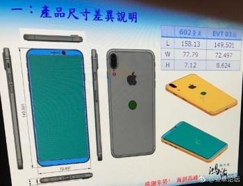 Das vergangenen Woche veröffentlichte Foto soll Details zu einem iPhone-8-Prototypen zeigen.