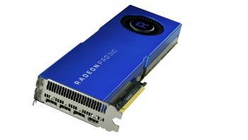 Für leistungshungrige Profis: die Radeon Pro Duo mit 32 GByte Videospeicher.