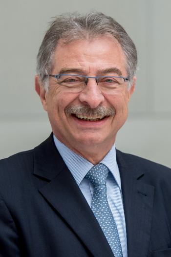 Der Präsident des BDI, Prof.. Dieter Kempf