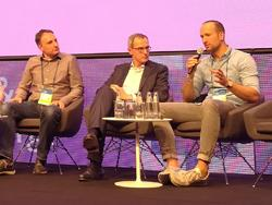 Markus Lorch, Alexander Britz und Fredrik Brantner (vlnr.)