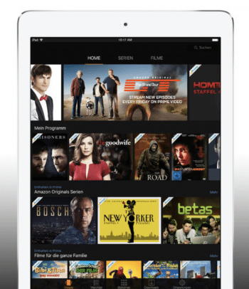 Für iPhone und iPad ist die Prime-Video-App seit langem erhältlich.