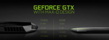 Max-Q-Ultrabooks soll es mit GPUs der Serien GeForce GTX 1060, 1070 und 1080 geben.
