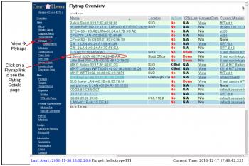 """Über das Web-Interface """"Cherry Web"""" kann die CIA die von den Routern gelieferten Daten inspizieren."""