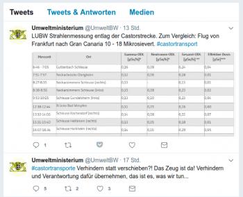 Umweltministerium von Baden-Württemberg