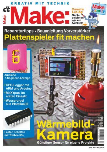 Die Software für den MaXYposi ist Thema eines Artikels in der aktuellen Make-Ausgabe 3/17.