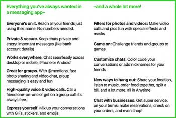 Ein Screenshot gibt Hinweise auf die Funktionen eines möglichen Amazon-Messengers.