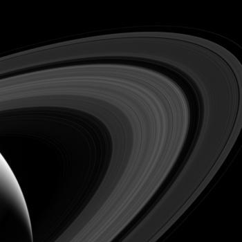 Der Saturn und seine Ringe