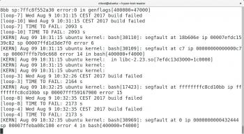 c't konnte den SegFault-Bug unter Linux mit einem Ryzen 7 1800X nachstellen.