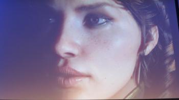 Menschliches Gesicht, erstellt mit Unreal Engine 4