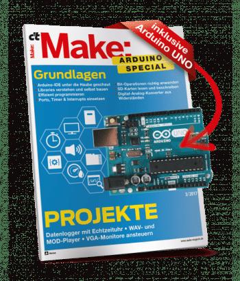 """Sonderheft """"Make Arduino Special"""", Teil 2 jetzt online bestellbar"""