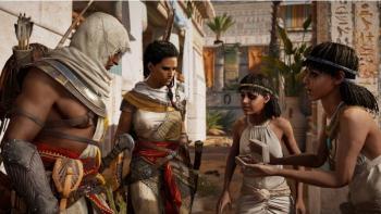 Als Krieger und als Detektive sorgen Bayek und seine Frau für Sicherheit und Ordnung im alten Ägypten. Und manchmal verbirgt sich mehr hinter dem Fall einer vergifteten heiligen Kuh als es den Anschein hat. Vor allem wenn die Verdächtigen Zwillinge sind.