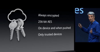 Nur vertrauenswürdige Geräte sollen Zugriff auf den iCloud-Schlüsselbund erhalten.